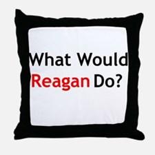 What Would Reagan Do? Throw Pillow