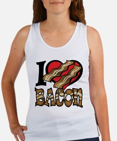 I Love Bacon Women's Tank Top
