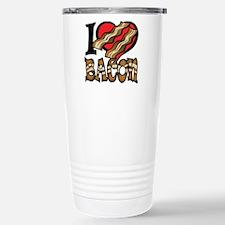 I Love Bacon Travel Mug