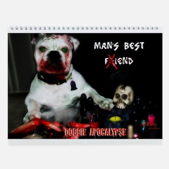 Zombie Pets Wall Calendar