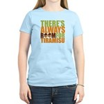 Always Room for Tiramisu Women's Light T-Shirt