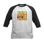 Always Room for Tiramisu Kids Baseball Jersey