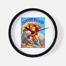 Jupiter Cigar Label Wall Clock