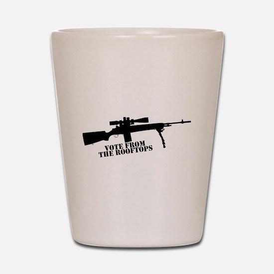 Unique Rifle Shot Glass