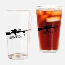 Cute Rifle Drinking Glass
