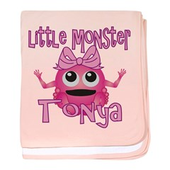 Little Monster Tonya baby blanket