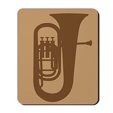 Tuba Player Mousepad Music Gift