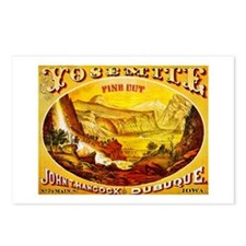 Yosemite Cigar Label Postcards (Package of 8)