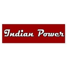 Indian Power Bumper Bumper Sticker