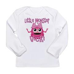 Little Monster Vicki Long Sleeve Infant T-Shirt