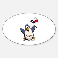 Texas Penguin Decal