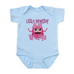 Little Monster Wilma Infant Bodysuit