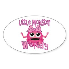 Little Monster Wendy Sticker (Oval)