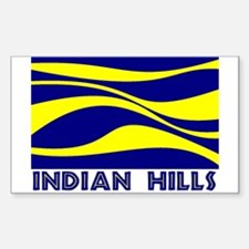 INDIAN HILLS Decal