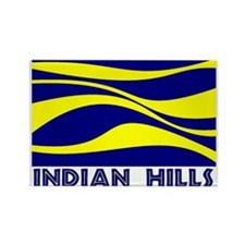 INDIAN HILLS Rectangle Magnet