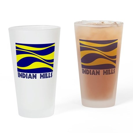 INDIAN HILLS Drinking Glass