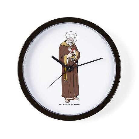 St. Francis of Assisi Wall Clock