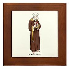 St. Francis of Assisi Framed Tile