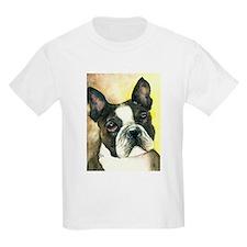Boston Terrier Kids T-Shirt