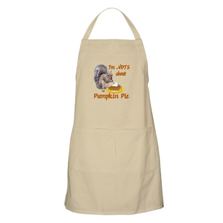 Pumpkin Pie Squirrel Apron
