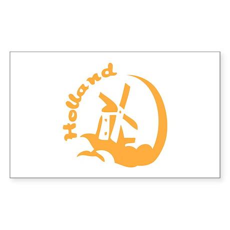 Holland Sticker (Rectangle 50 pk)
