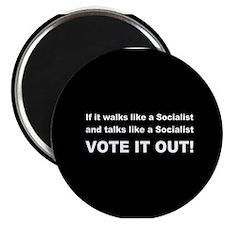 "Socialist Vote It Out 2.25"" Magnet (100 pack)"