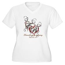 Twilight Breaking Dawn WM's Size V-Neck T-Shirt