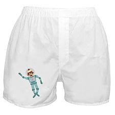 Sock Monkey Astronaut Boxer Shorts
