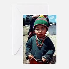 Mayan Boy Greeting Cards (Pk of 10)