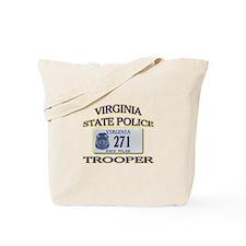 Virginia State Police Tote Bag