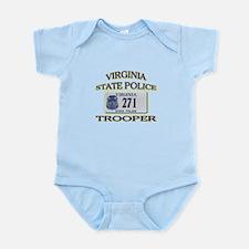 Virginia State Police Infant Bodysuit