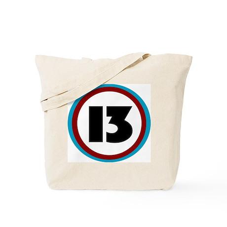 LUCKY 13 Tote Bag