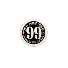 We Are The 99% United We Stan Mini Button (100 pac