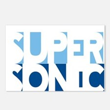 SUPERSONIC Postcards (Package of 8)