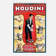 Houdini Handcuffs Postcards (Package of 8)