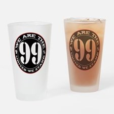The 99% United We Stand Drinking Glass