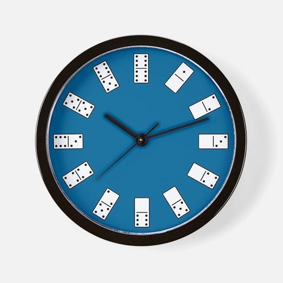 Dominos Wall Clock