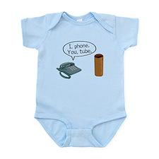 I Phone You Tube Infant Bodysuit