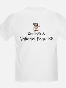 Hike Badlands Nat Park (Girl) T-Shirt