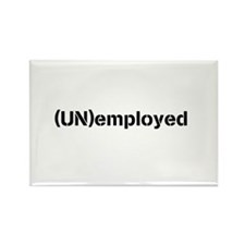 (UN)employed magnets Rectangle Magnet (10 pack)