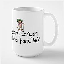 Hike Bighorn Canyon (Girl) Mug