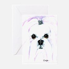 Maltese Greeting Cards (Pk of 10)