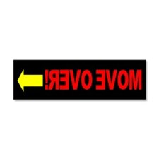 Get Over Move Over Magnet Car Magnet 10 x 3
