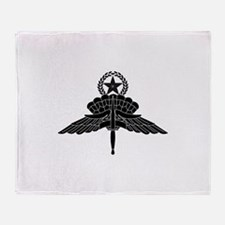 HALO Jump Master Throw Blanket