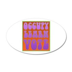 occupy power 22x14 Oval Wall Peel