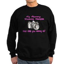 My Mommy Shoots- Pink Sweatshirt