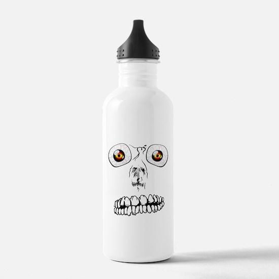 Spooky Face Water Bottle