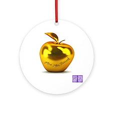 Eris' Apple Ornament (Round)