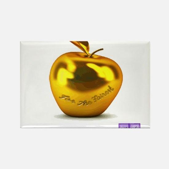 Eris' Apple Rectangle Magnet