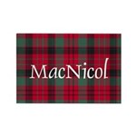 Tartan - MacNicol Rectangle Magnet (100 pack)